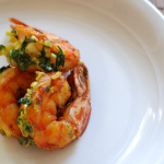 Turmeric-rubbed Shrimp