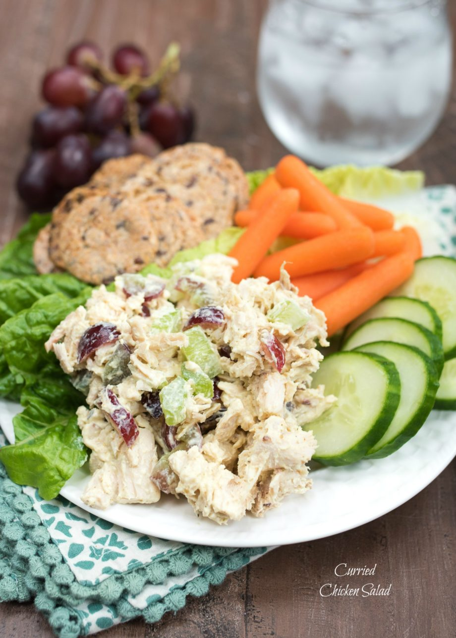 Curried Chicken Salad - Nutritious Eats
