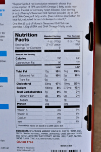 Morley S Salmon Food Label 0011 Nutritious Eats