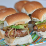Southwestern Turkey Burger Sliders-1031