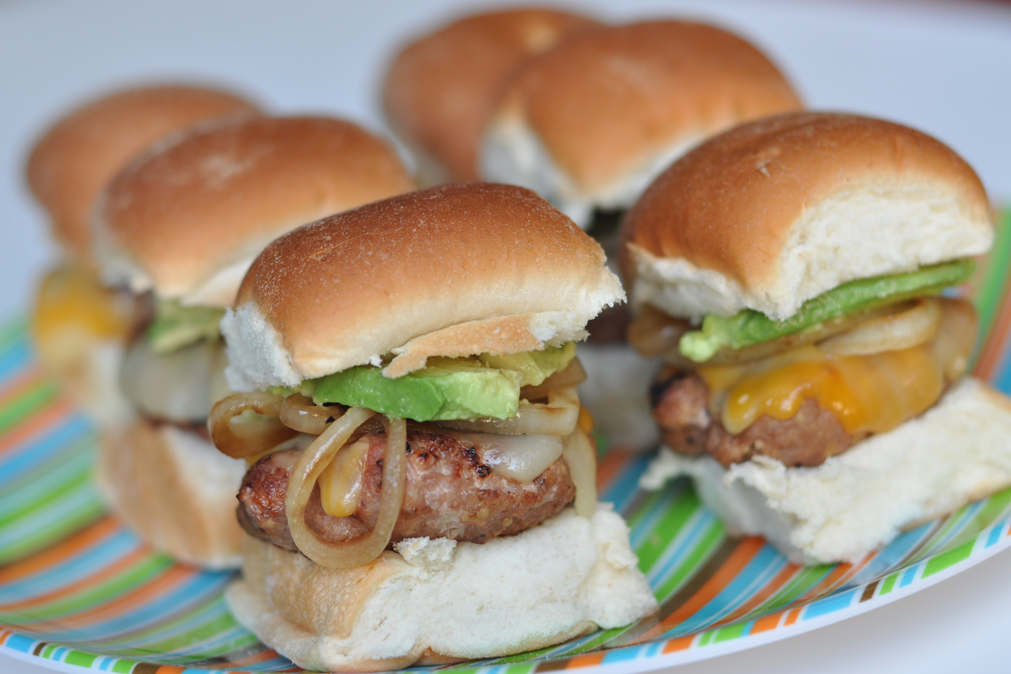 Southwestern Turkey Burger Sliders with Chipotle Ketchup - Nutritious ...