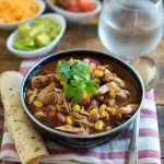 Chicken Chili {Slow Cooker} - Nutritious Eats