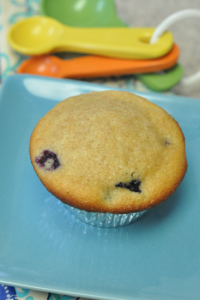 Kids in the Kitchen & Blueberry Muffins