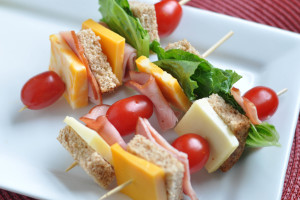 "Healthy Kid Lunches: ""Kebobs"""