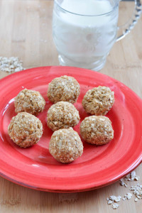 The Perfect Snack- Oatmeal Peanut Butter Balls
