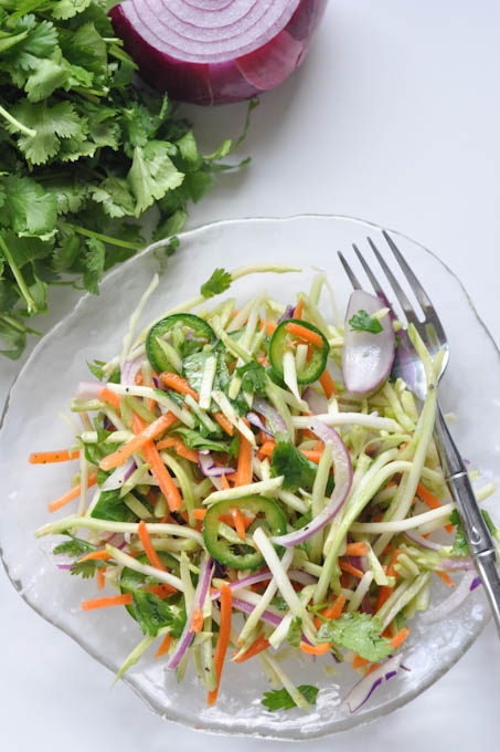 Spicy Lime-Cilantro Slaw and Meal Planning Monday!