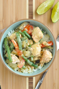 Green Curry in a Hurry & Meal Planning Monday