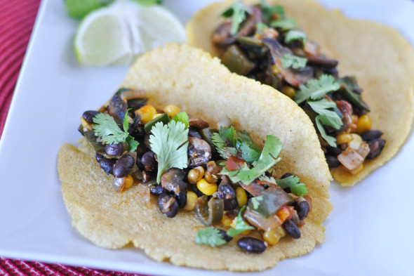 Black Bean And Corn Mole Tacos Recipes — Dishmaps