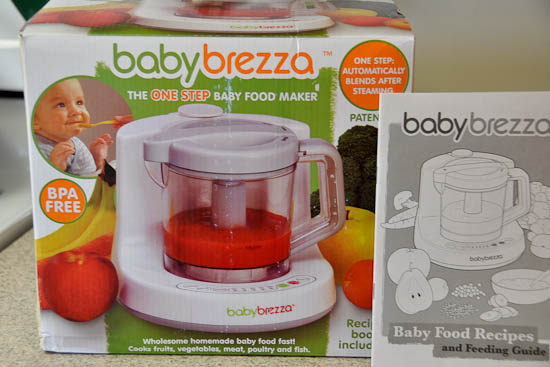 making homemade baby food with the baby breeza nutritious eats rh nutritiouseats com