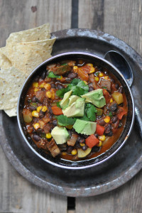 The Best Vegetarian Chili