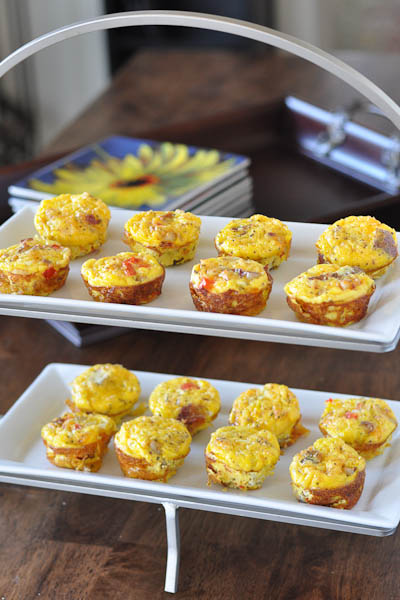 Brunch Food: Bacon and Potato Egg Frittatas - Nutritious Eats