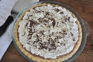 Summer Memories and Chocolate Silk Pie