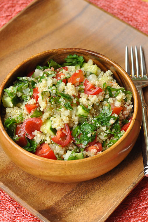 Healthy Grains: Quinoa Tabouli - Nutritious Eats