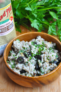 Bob's Red Mill Buckwheat Pesto Salad: Product Review and Giveaway!