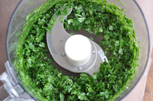 The New Nutritious Eats and a Recipe for Chimichurri