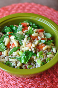 Winner of the Giveaway and French Bean & Buckwheat Groat Salad