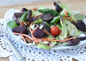 A Trip to the Farmer's Market: Recipe for Roasted Beets & Meal Planning