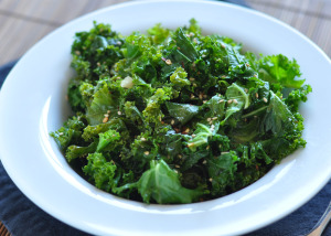 Sauteed Sesame Kale and Meal Planning