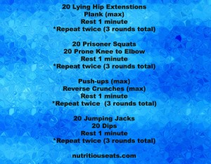 Fitness Friday! Six No-Equiment Needed Workouts!