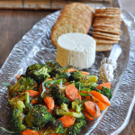 Roasted Vegetable & Cheese Tray