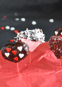 Chocolate Covered Marshmallows & More Valentine's Treats