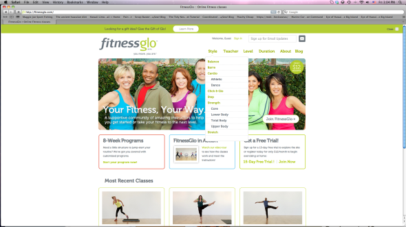 FitnessGlo Online Classes | www.nutritiouseats.com