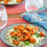 Chipotle Roasted Sweet Potato & Cabbage Salad-1