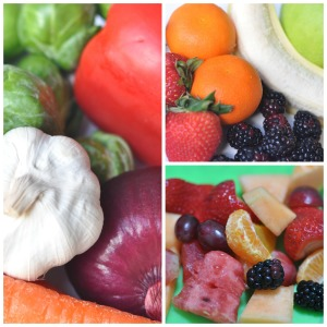 Eat the Colors of the Rainbow {National Nutrition Month}
