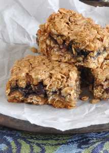 Blueberry Granola Bars | Nutritious Eats