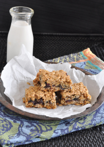 Blueberry Granola Bars & Meal Planning