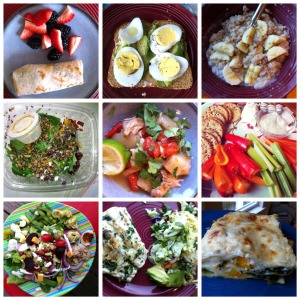 What I Ate This Month & Meal Planning