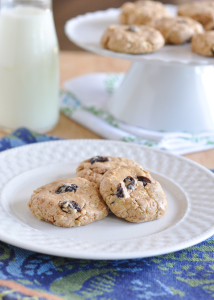 No-Bake Oatmeal Raisin Protein Cookies