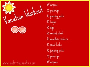 Vacation Workout