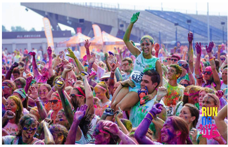 Run or Dye, Blood Sweat and Cheers | www.nutritiouseats.com