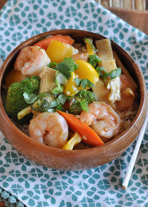 Shrimp with garlic sauce nutritious eats shrimp with garlic sauce forumfinder Image collections