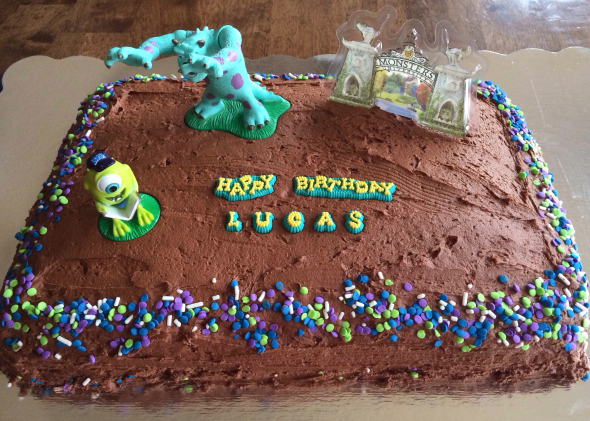 Monsters University Birthday Party | www.nutritiouseats.com