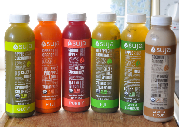Suja Juice Cleanse Giveaway | www.nutritiouseats.com