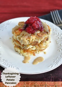 Thanksgiving Leftover Potato Pancakes