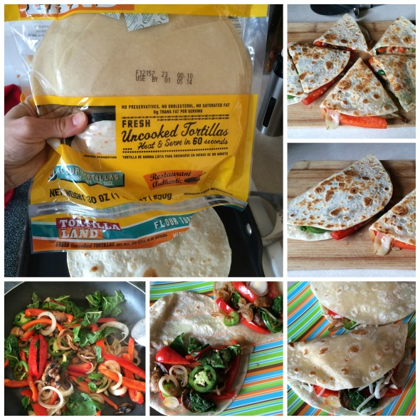 Vegetarian Quesadillas with Jalapeños! www.nutritiouseats.com