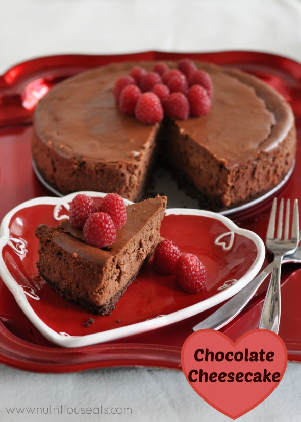 Double Chocolate Cheesecake | www.nutritiouseats.com