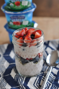 Stonyfield Greek Yogurt & A Perfect Parfait