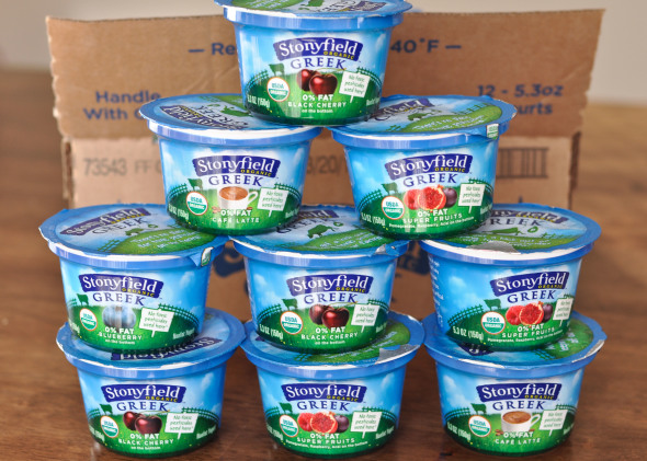 Stonyfield Greek Yogurt | www.nutritiouseats.com