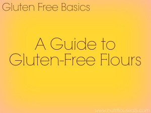 A Guide To Gluten-Free Flours