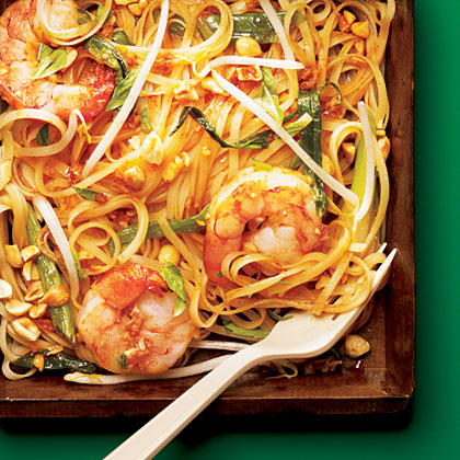 Cooking Light Shrimp Pad thai