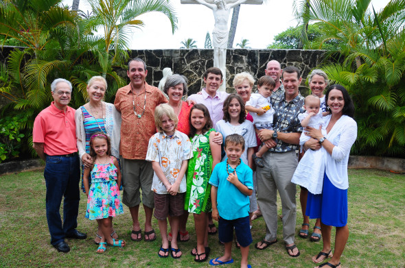 There Were 16 17 Of Us Different For Parts The Trip Not Pictured Is My Brother In Law And His Family Who Kauai But Oahu