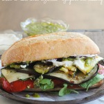 Grilled Vegetable Sandwich | Nutritious Eats