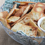 Homemade Pita Chips | www.nutritiouseats.com