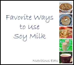 Favorite Ways To Use Soy Milk