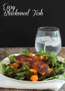 Blackened Seasoning Mix and Blackened Fish Recipe