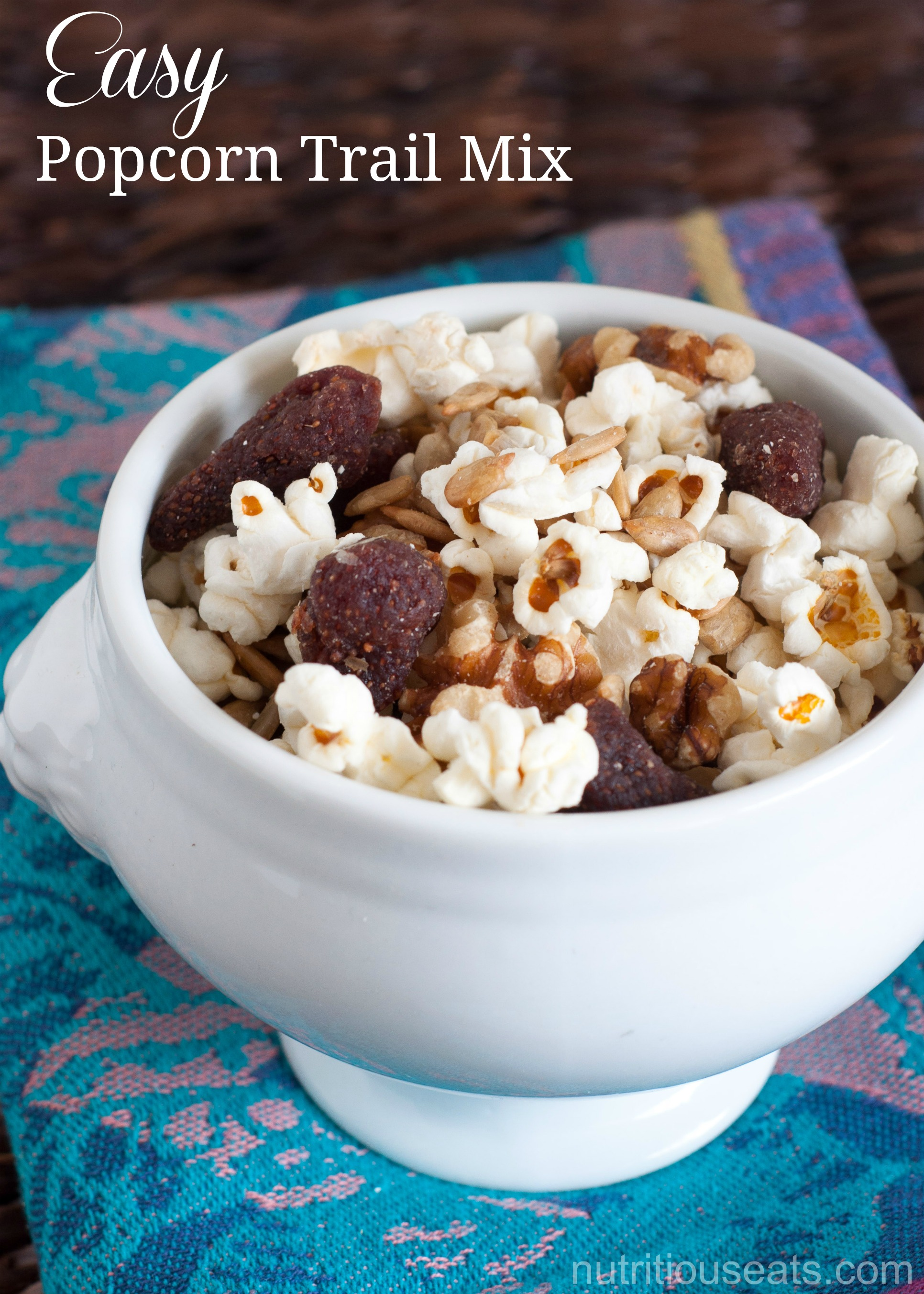 Easy Popcorn Trail Mix